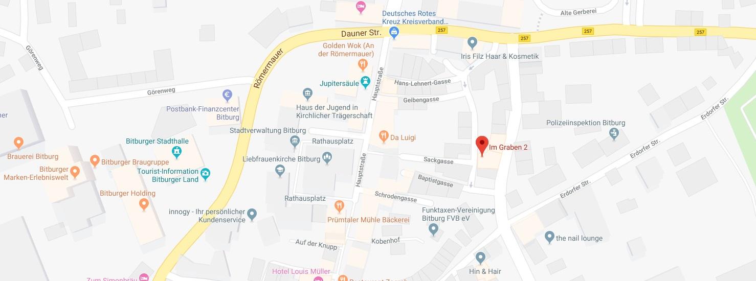 Dr Heidi Weber Bitburg Google Map
